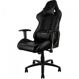 Cadeira Gamer Profissional TGC15 Preta - THUNDERX3