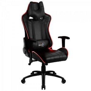 Cadeira Gamer RGB AIR AC120 Preto -  AEROCOOL