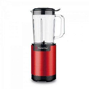 Mini Liquidificador 800W 127V ML2001V Vermelho MASTER CHEF
