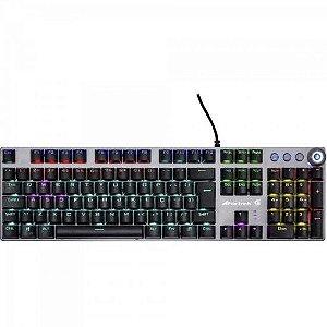 Teclado Mecânico Gamer PRO K7 Rainbow Fortrek