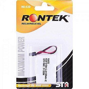 Bateria Recarregável Para Telefone sem Fio 300mAh 3,6V RONT