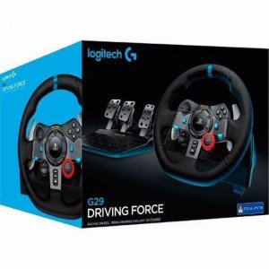 Volante Logitech G29 Driving Force Playstation 4 / Playstation 3 / PC