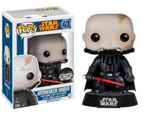FUNKO POP - Star First Order Unmasked Darth Vader - Pop Vinyl