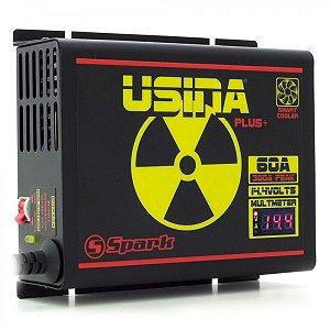 FONTE USINA 60A A 12V BI-VOLT 127/220V DISPLAY VOLT/AMP