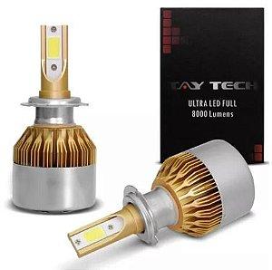 Kit Lâmpada Ultra Led Headlight 12v- H7 Tay Tech