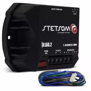 IR160.2 AMPLIFICADOR DIGITAL 160W 2 CANAIS 2 OHMS(REMANUFATURADO)