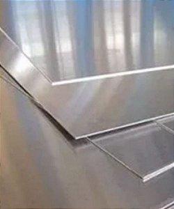 Chapa de Alumínio - Embalagem com 01 unidade