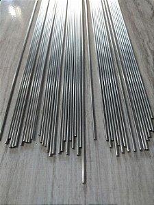 Arame de Aço Inox Polido - 1 metro x 1,6 mm - Pacote com 1 Kg.