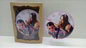 Relógio de mesa casamento