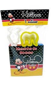 Massinha de Modelar + cortadores  Mickey