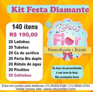 Kit Festa 140 itens