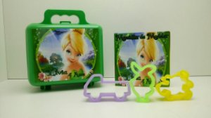 Kit maleta + Massinha de modelar e 2 cortadores