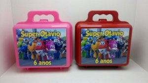 10 Maleta Super Wings