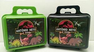 10 Maletinha Jurassic Park Dinossauros