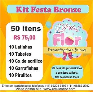 Kit festa 50 Ìtens (Personalizamos em todos os temas)