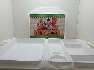 10 Kit Maleta escolar Personalizada Cocórico