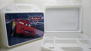 10 Kit Maleta escolar Personalizada Carros