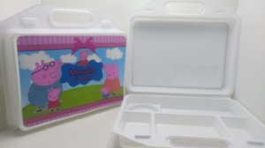 10 Kit Maleta escolar Peppa Pig