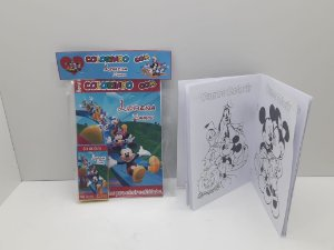 10 Revista de colorir Turma do Mickey