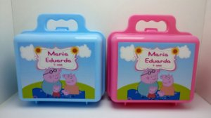 10 Maletinha Personalizada Peppa Pig