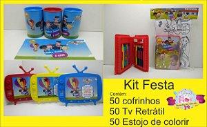 Kit festa 150 itens (Personalizamos em todos os temas)