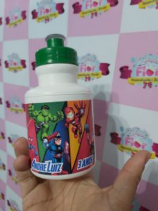 Squeese de Plástico Personalizado