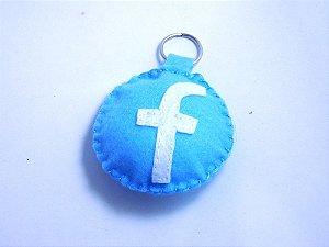 Chaveiro Facebook