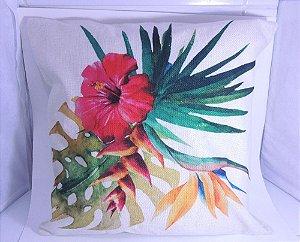 Capa de almofada flor 1