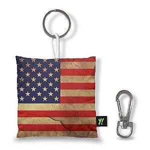 Chaveiro Bandeira Usa