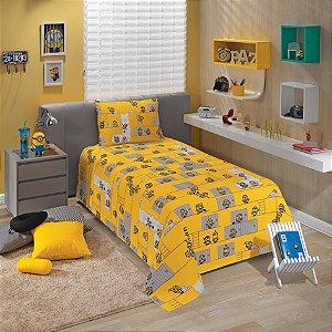 Jogo de cama Solteiro Minions 3 peças