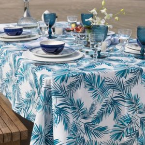 Toalha de mesa retangular Tropical