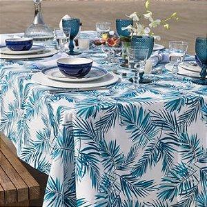 Toalha de mesa quadrada Tropical