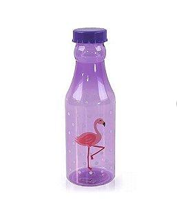 Garrafinha Flamingos Roxo