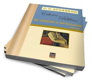 KIT SPURGEON — ESBOÇOS BÍBLICOS DE GÊNESIS A APOCALIPSE E SALMOS