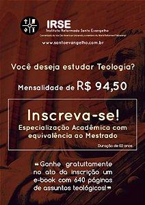 ESPECIALIZAÇÃO ACADÊMICA STRICTO SENSU | MESTRADO