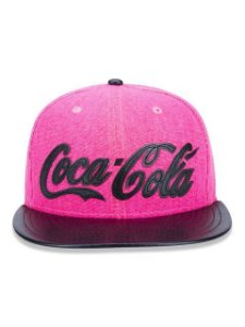 Boné New Era Original 9FIfTy Coca Cola Pink Aba Reta