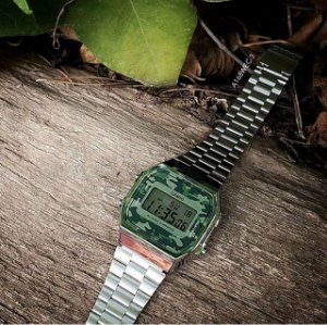 Relógio Casio Original Unissex Camuflado A168WEC3DF