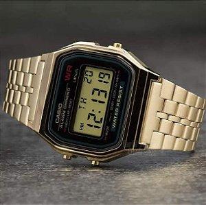 Relógio Unissex Casio Digital Social A159WGEA-1DF