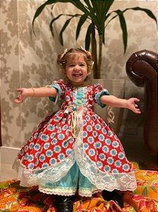 Vestido de Prenda Infantil - Vestidos para festa junina