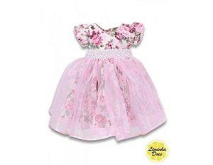 Vestido de Daminha Floral - Infantil