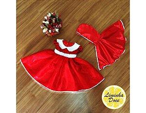Vestido Chapeuzinho Vermelho - Infantil
