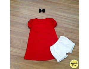 Vestido de Festa Tema da Mônica - Infantil