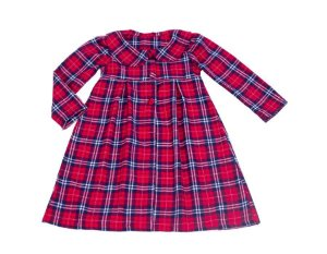 Vestido Xadrez com Sobretudo - Infantil