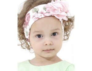 Faixa de Cabelo Infantil Rose