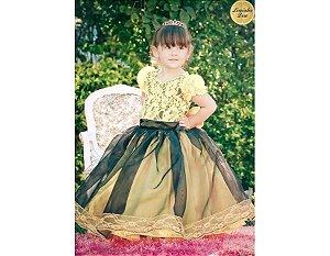Vestido de Luxo - Infantil