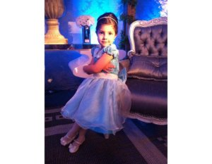 Vestido de Luxo para Daminha - Infantil