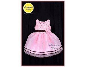 Vestido de Luxo Tema das Ursas - Infantil