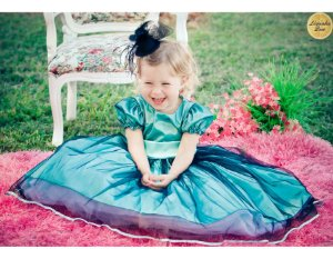 Vestido de Princesinha - Infantil