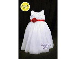 Vestido de Tule para Daminha - Infantil