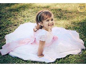 Vestido para Daminha de Honra - Infantil